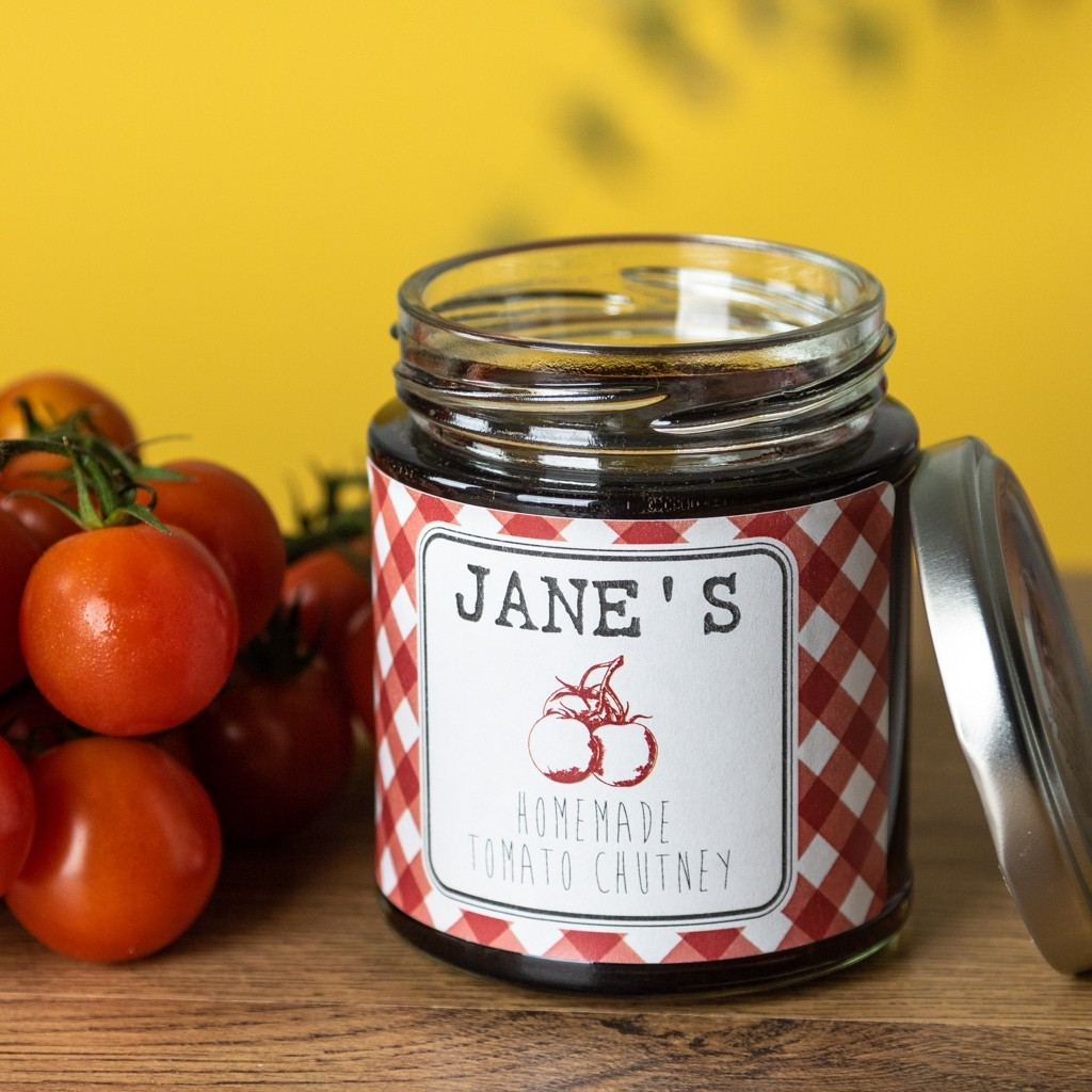Tomato - Chutney Labels
