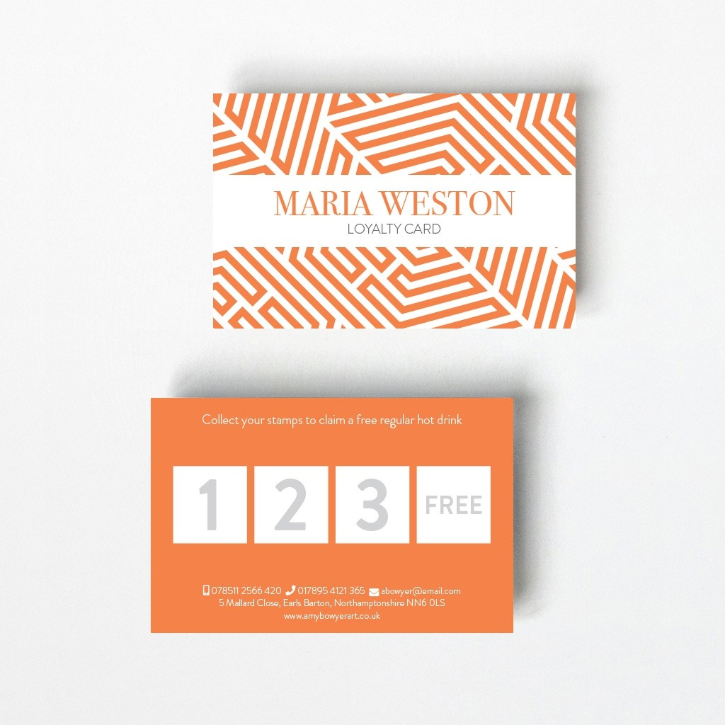 Acute Loyalty Card - 4 Boxes