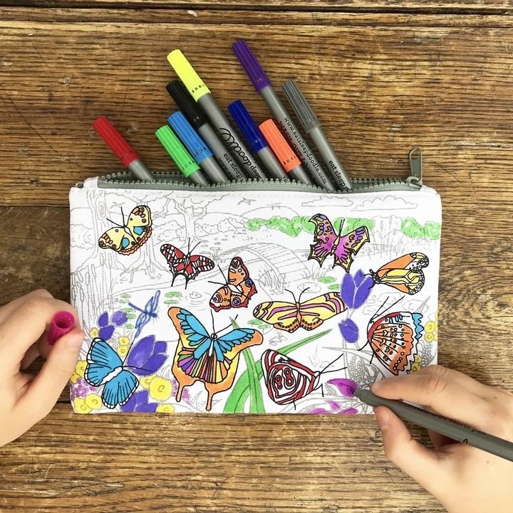 New Colour In Pencil Case & Pens