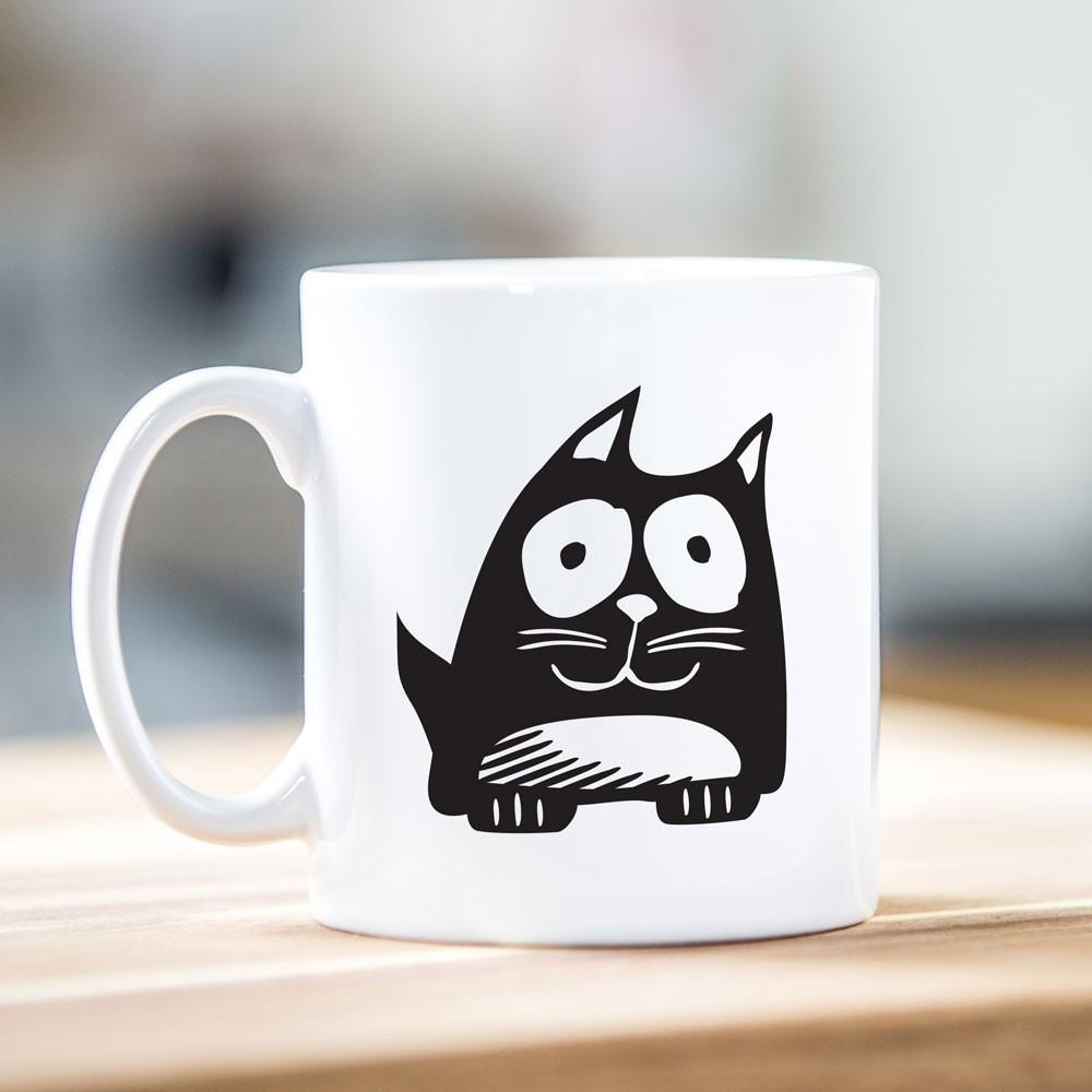 Cat Motif Mug