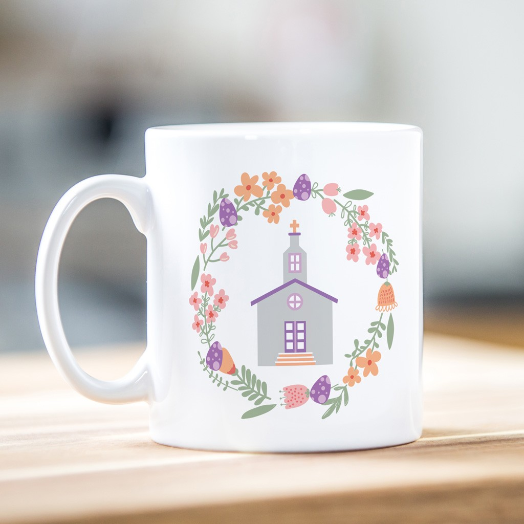 Easter Mug - Church Design