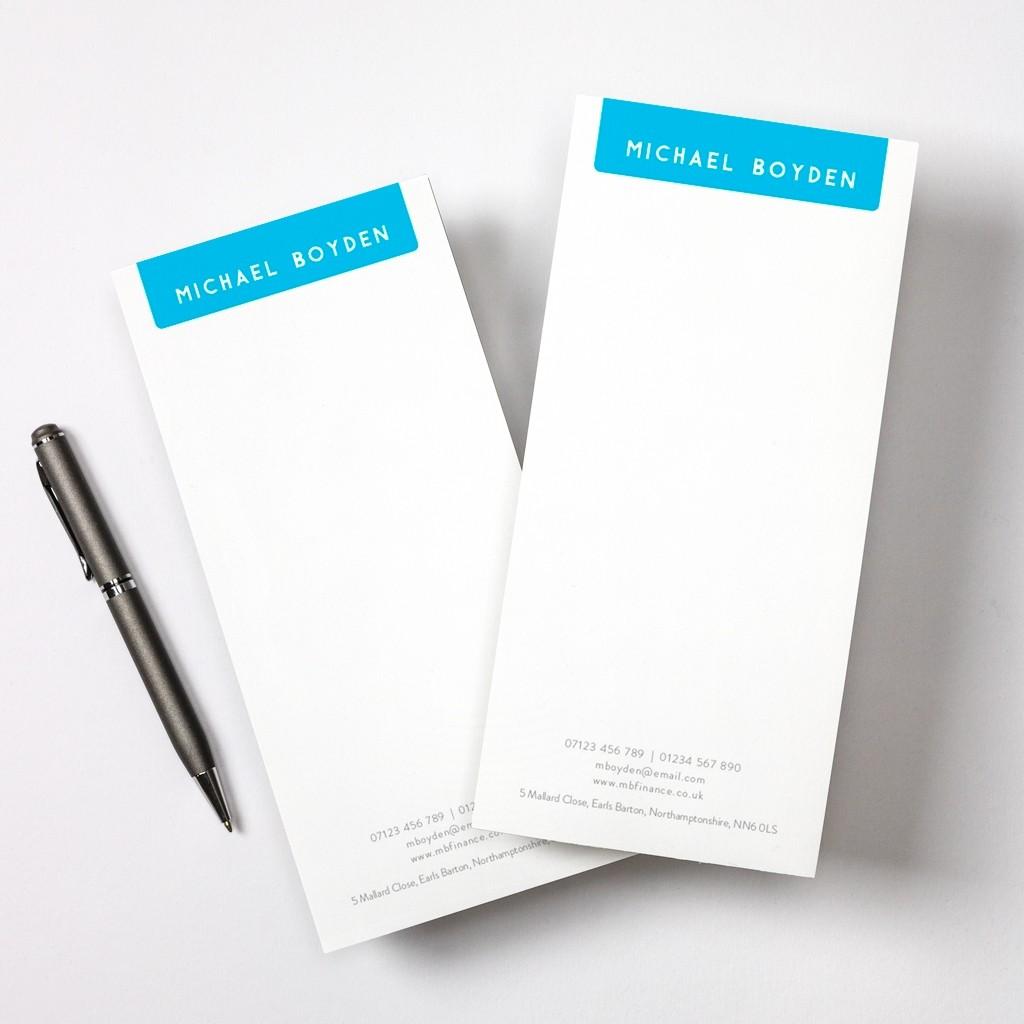 Minimal Tear Off Notepad