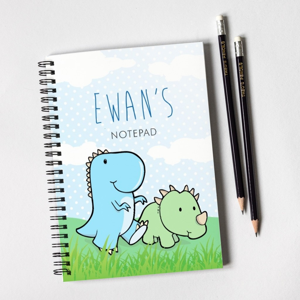 Dinosaur Notebook & Pencil Gift Set
