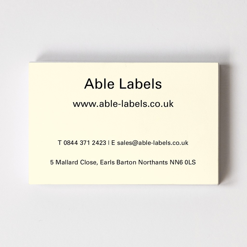 Design Your Own Recycled Business Card