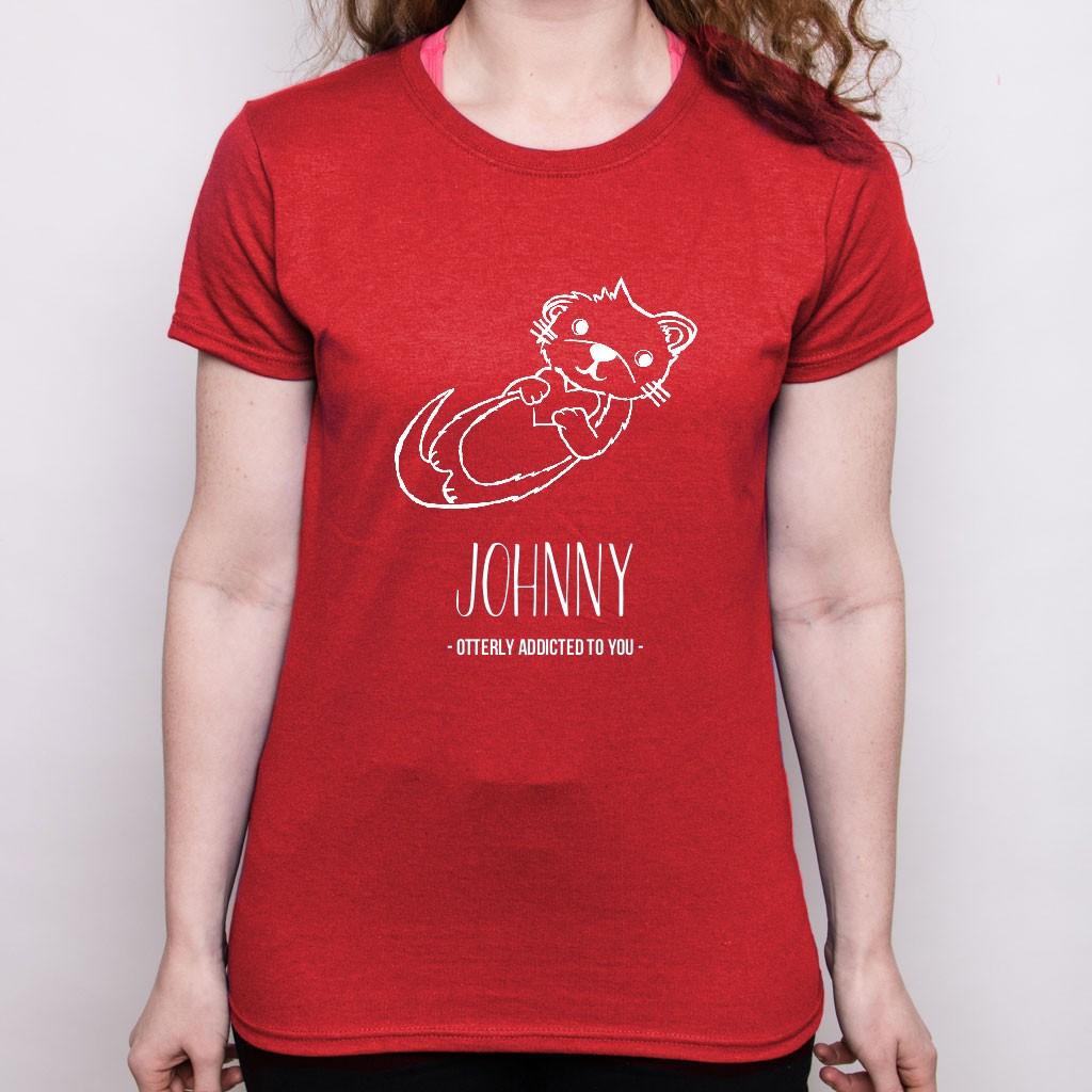 Valentine's Day T-Shirt - Otter