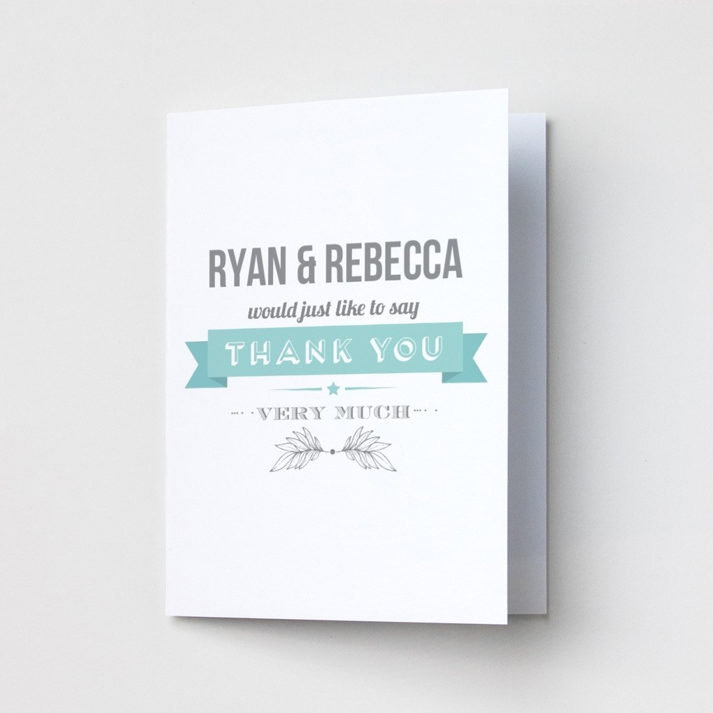 Flag - Thank You Cards