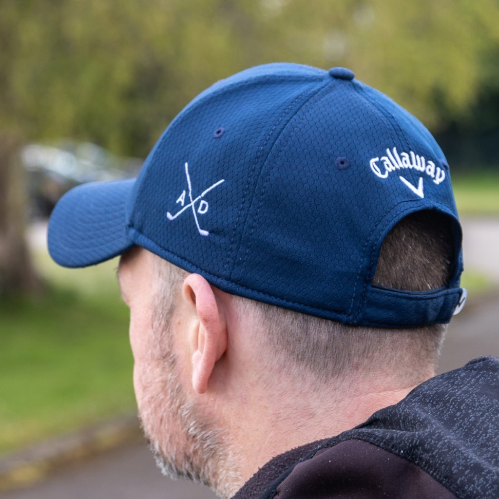 Personalised Callaway Golf Cap