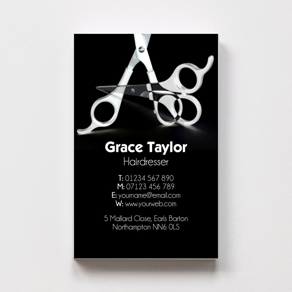 Hairdresser Templated Business Card 1
