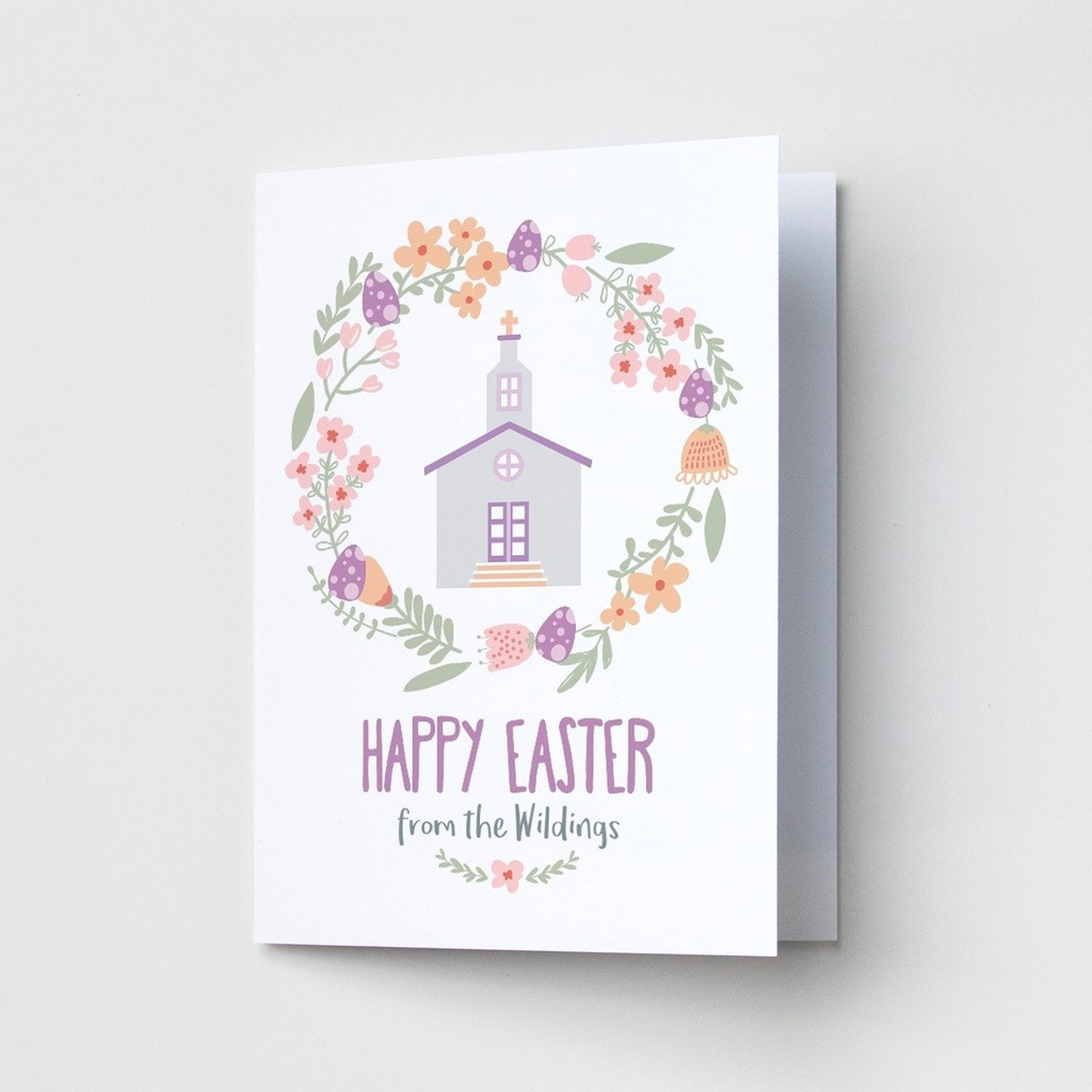 Church Design Easter Cards
