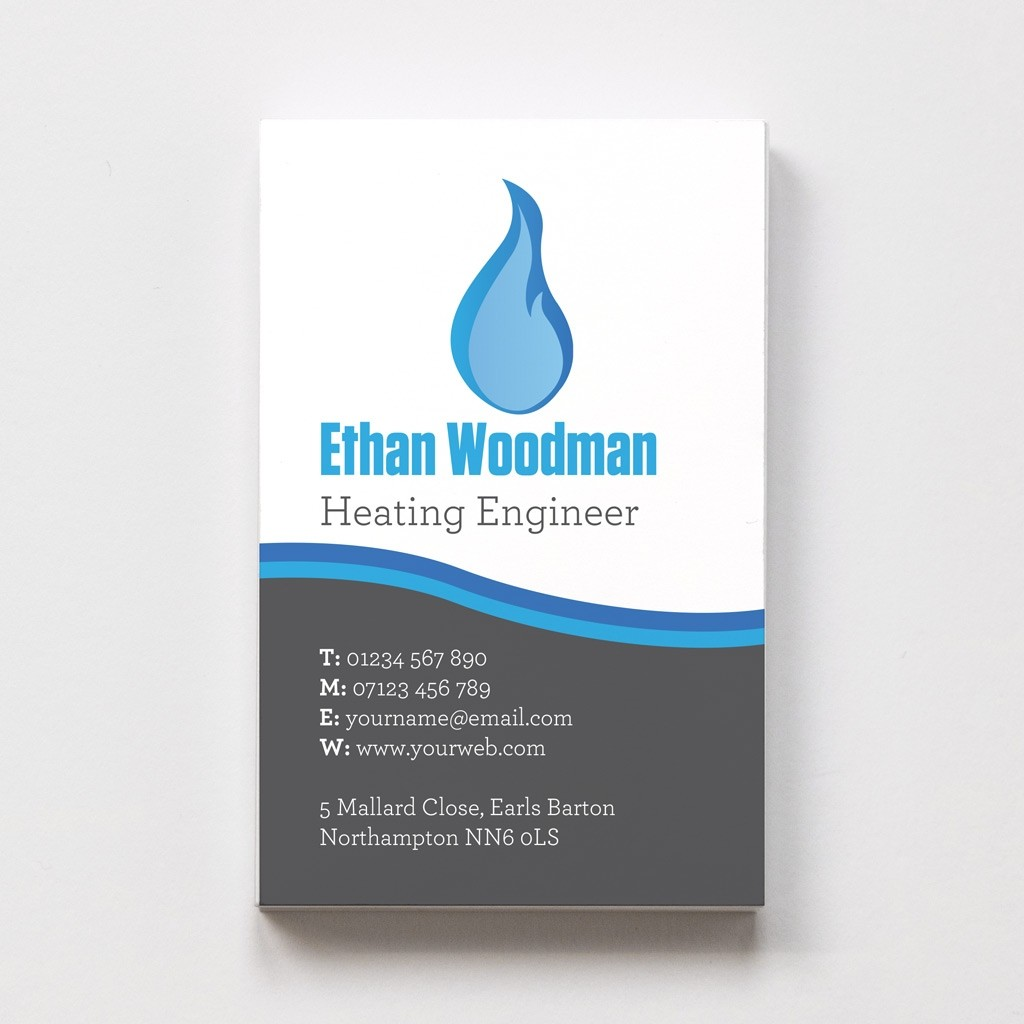 Plumber Templated Business Card 3