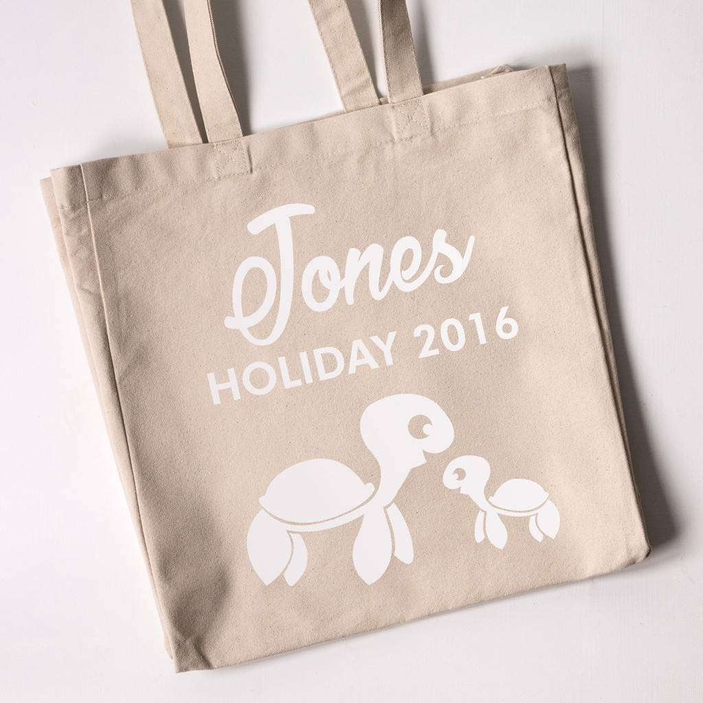 Personalised Beach Tote Bag