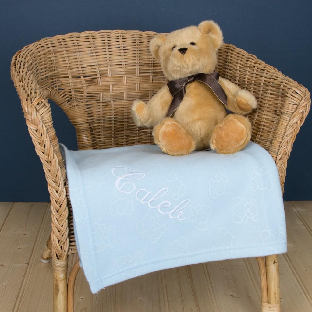 Personalised Summer Fleece Blanket