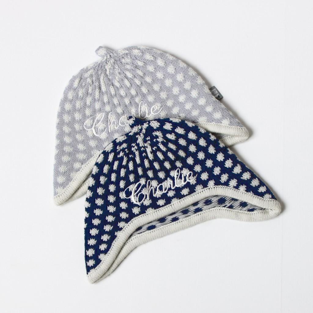 Luxury Merino Wool Spotty Hat