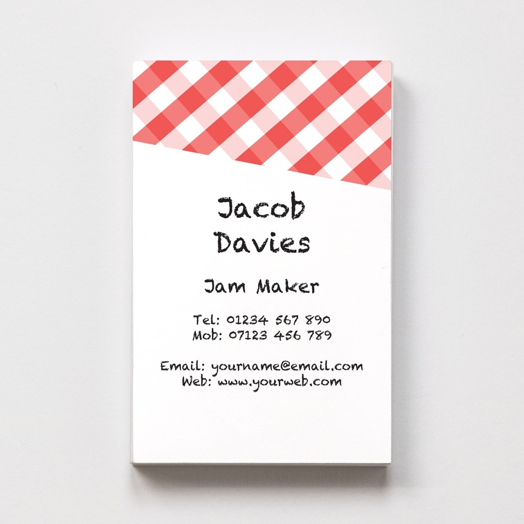 Templated Business Card Jam Maker 2