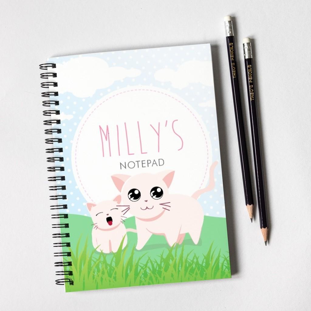 Kittens Notebook & Pencil Gift Set