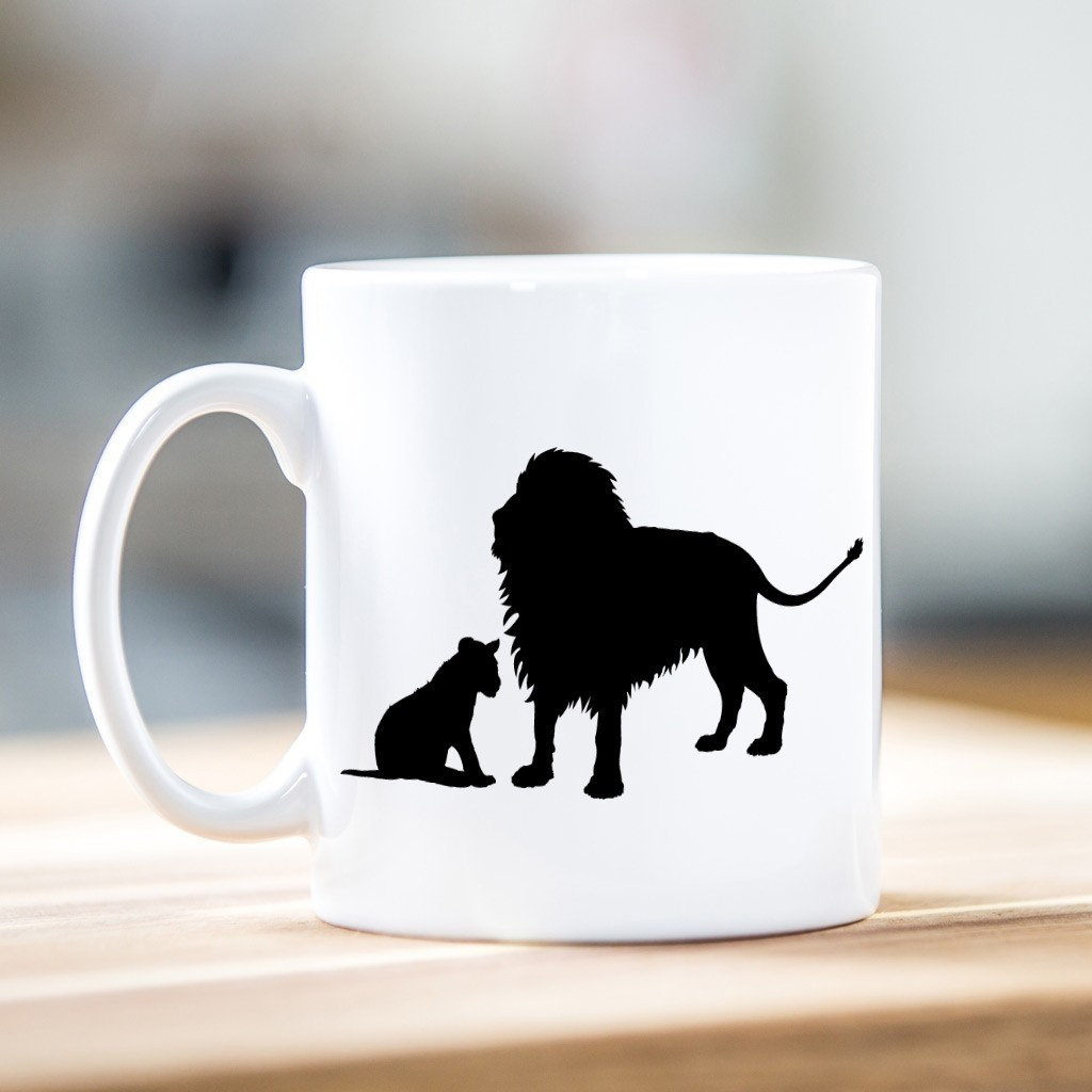 Lion - Father's Day Ceramic Mug