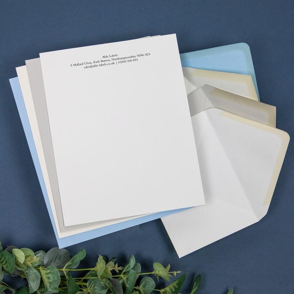 Luxury Headed Paper - Digital Printed