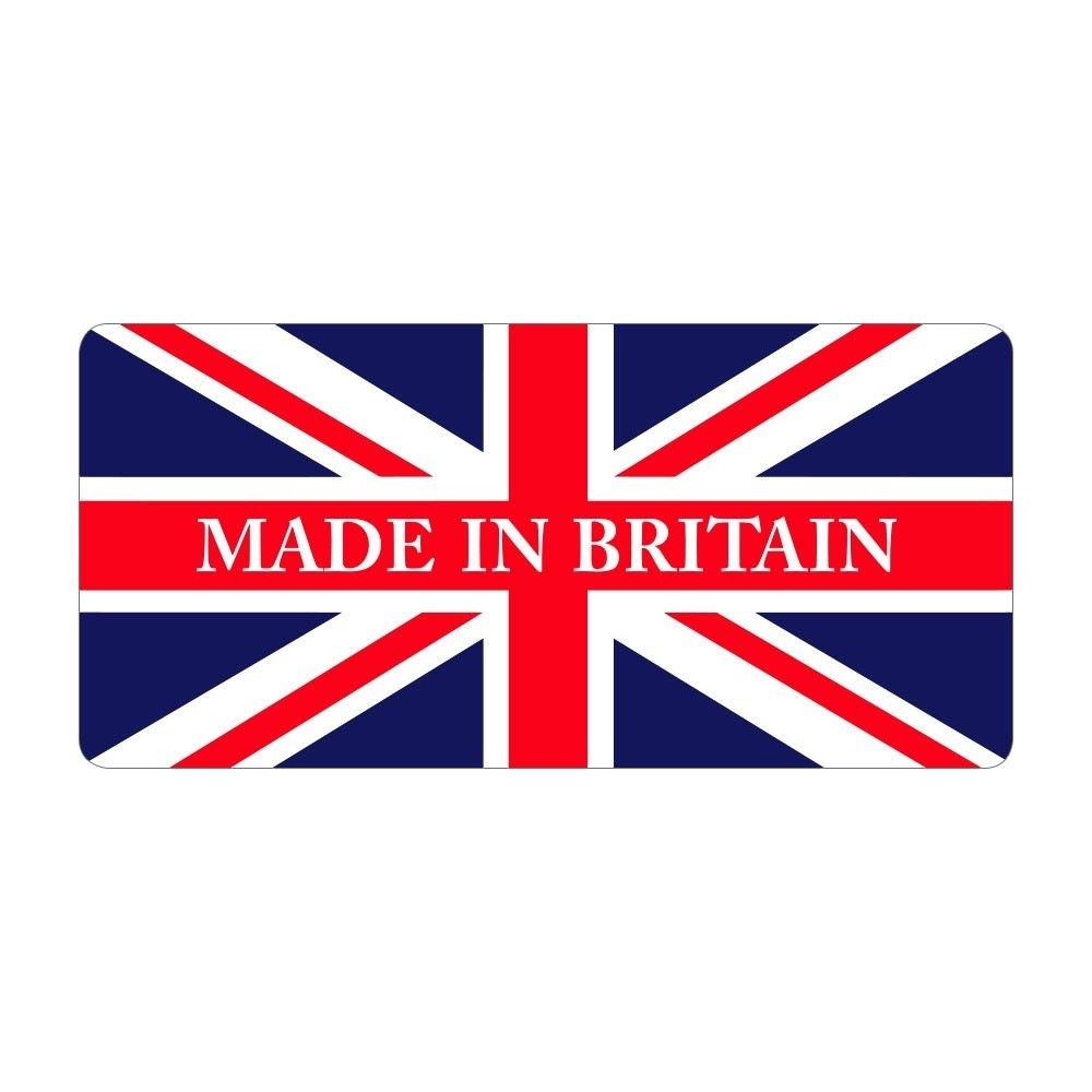 Made in Britain - Pre Designed Labels