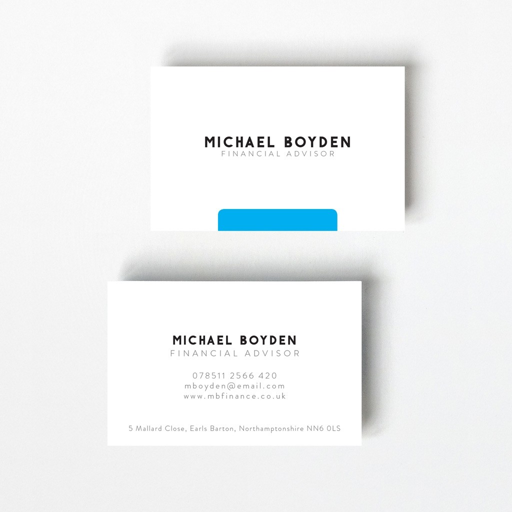Minimal Design Business Card