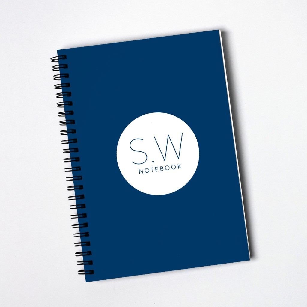 Monogram Notebook