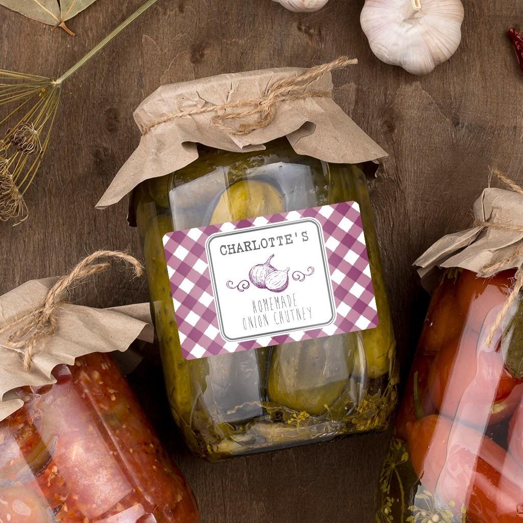 Onion - Chutney Labels