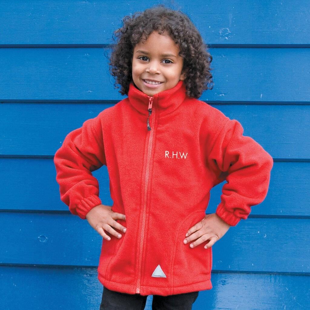 Personalised Polar Therm School Jacket