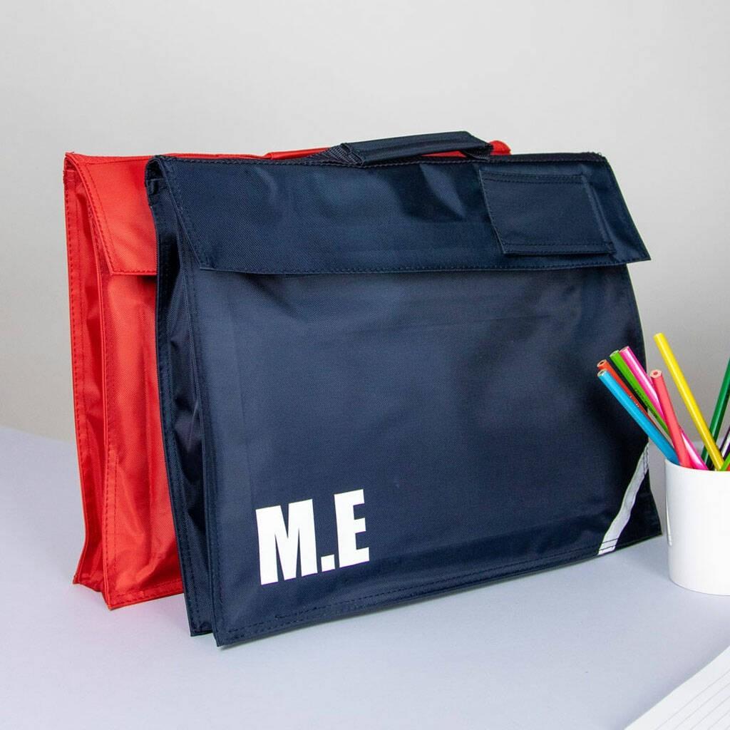 Personalised School Book Bag
