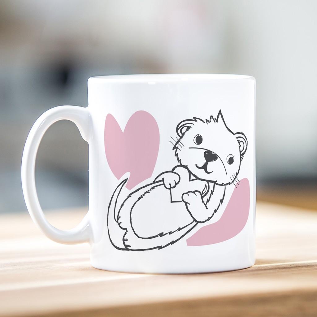 Valentine's Day Mug - Otter