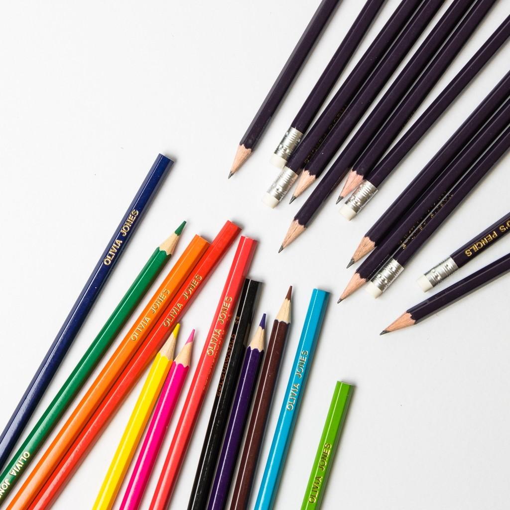Personalised Pencil Pack