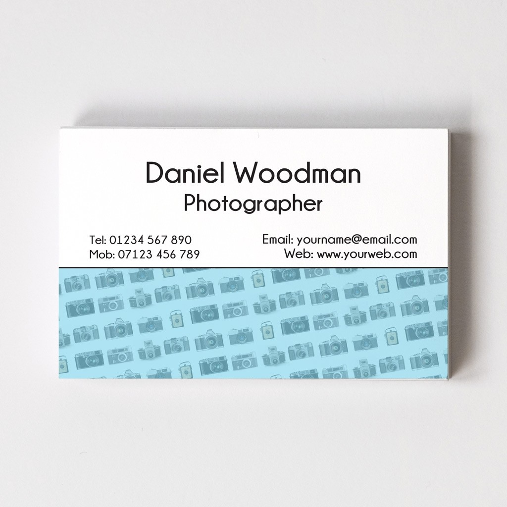 Photography Templated Business Card 1