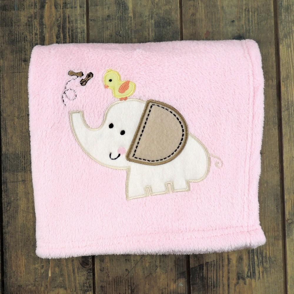 Personalised Animal Motif Blanket