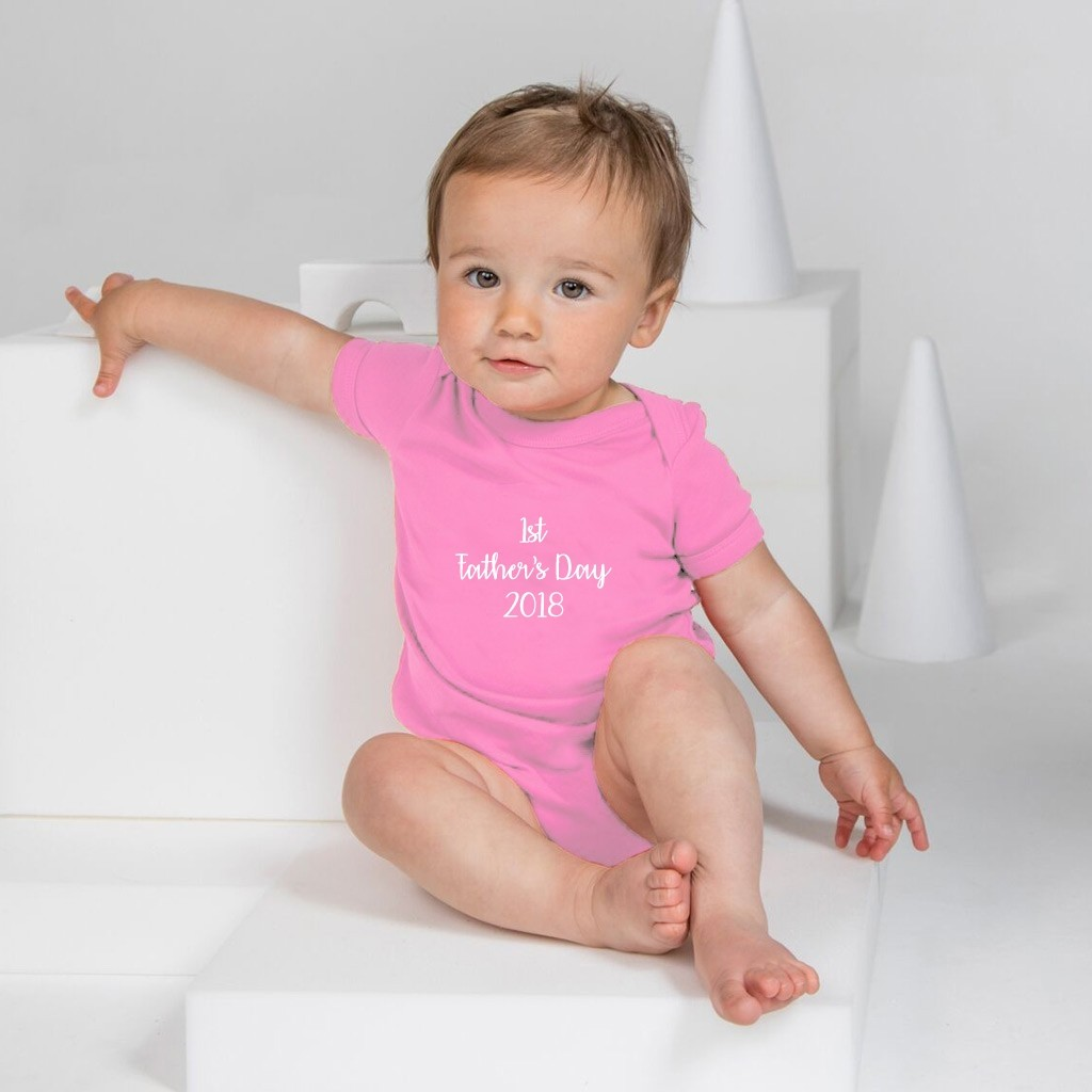 Personalised Baby Grow - Embroidered Text