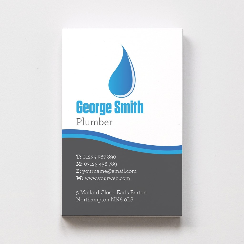 Plumber Templated Business Card 2