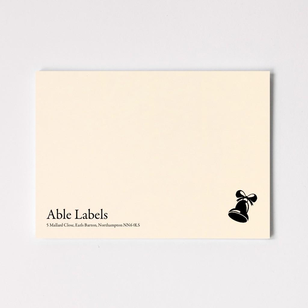 Traditional Serif & Motif Premium Correspondence Cards