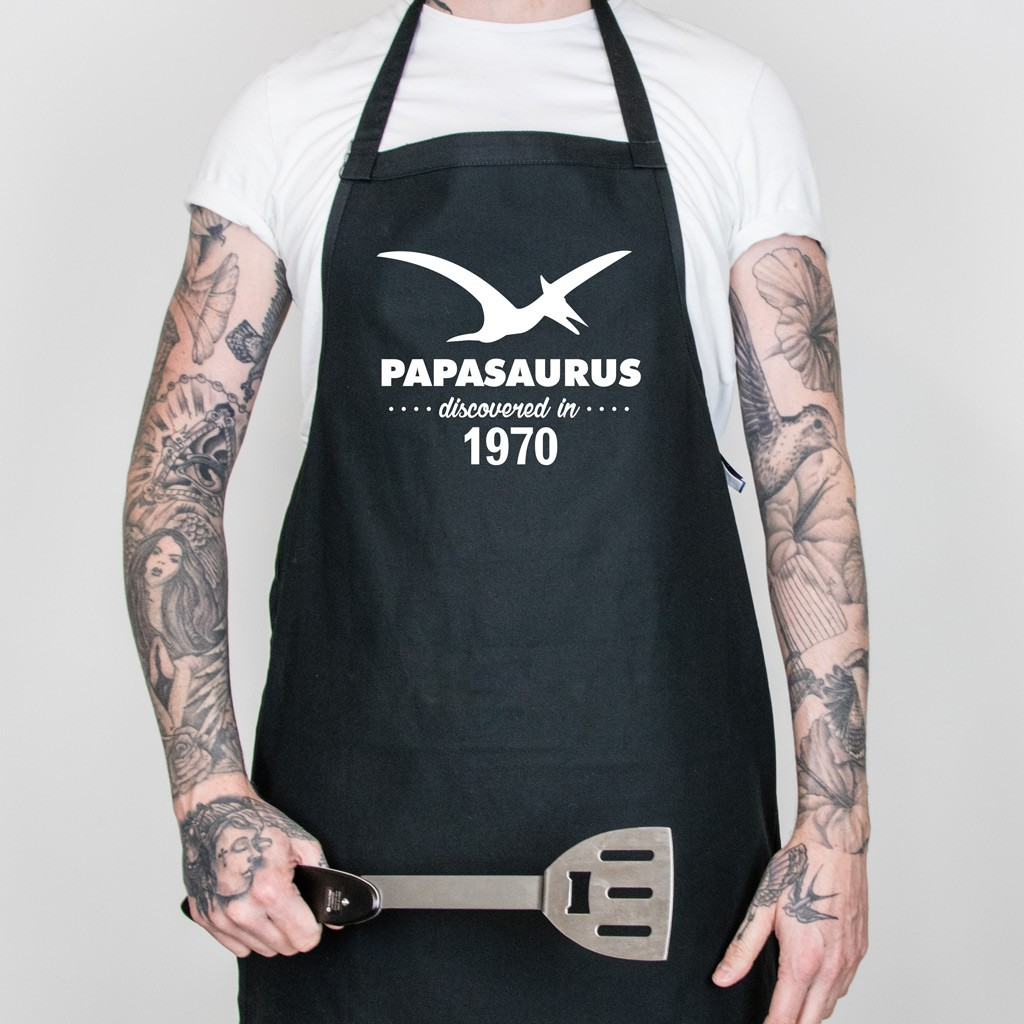 Father's Day PAPASAURUS Apron