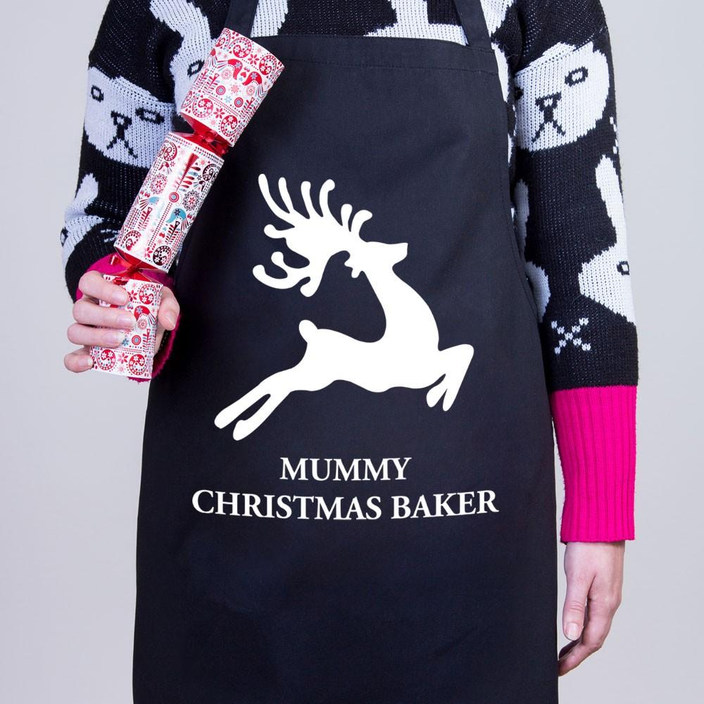 Reindeer - Christmas Personalised Apron