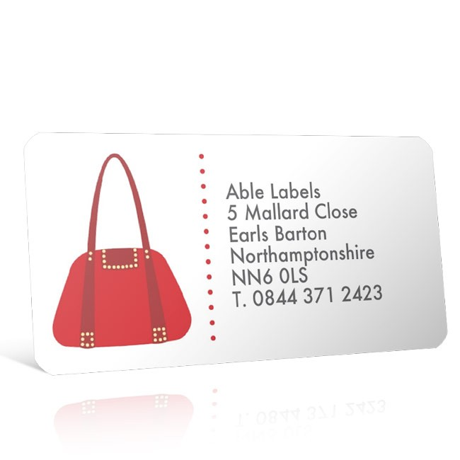 Pre Designed Handbag 2 Address Label on A4 Sheets