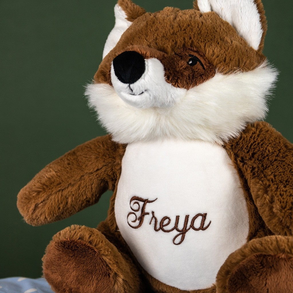 Personalised Soft Toy Woodland Fox