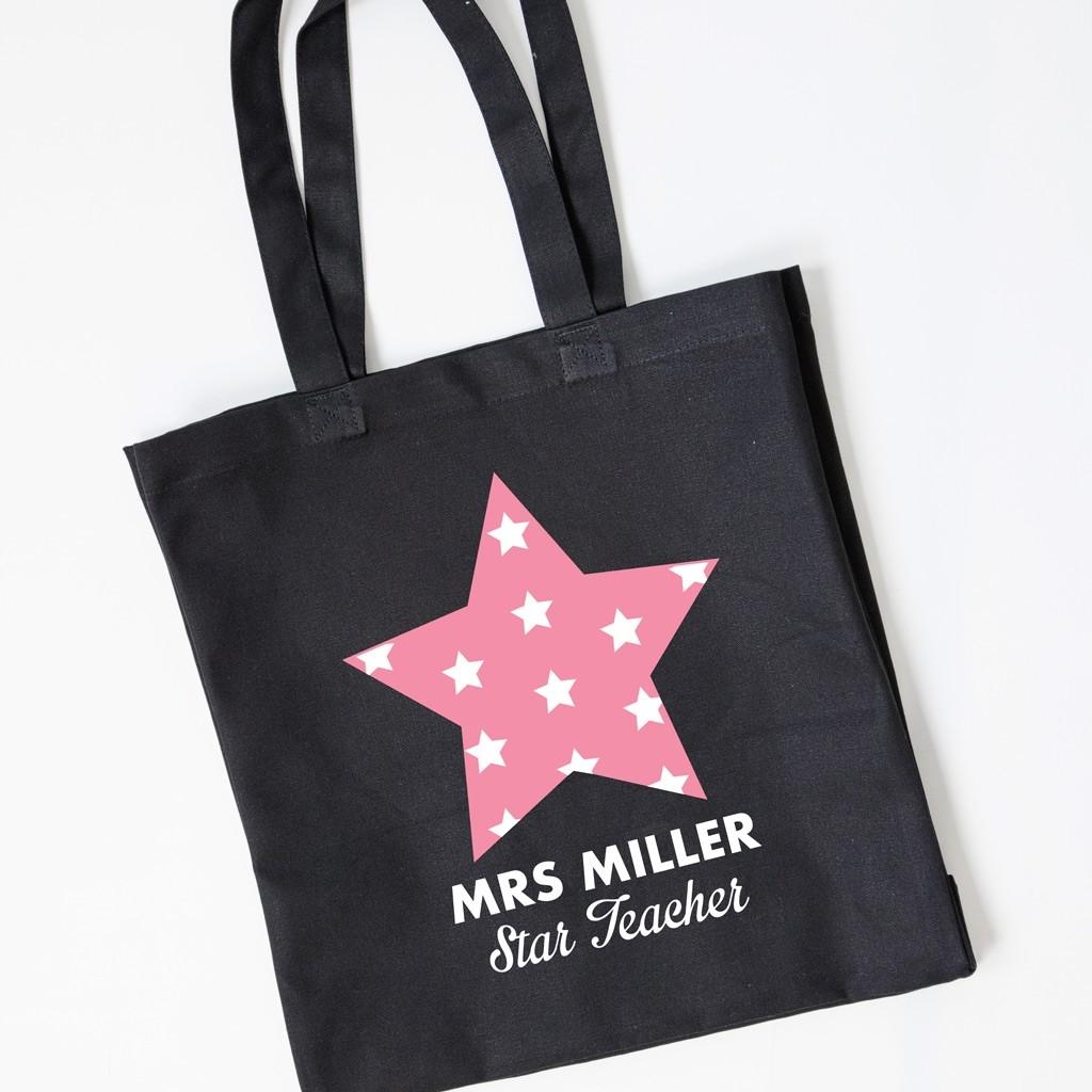 Teacher Gift Tote Bag - Star Teacher