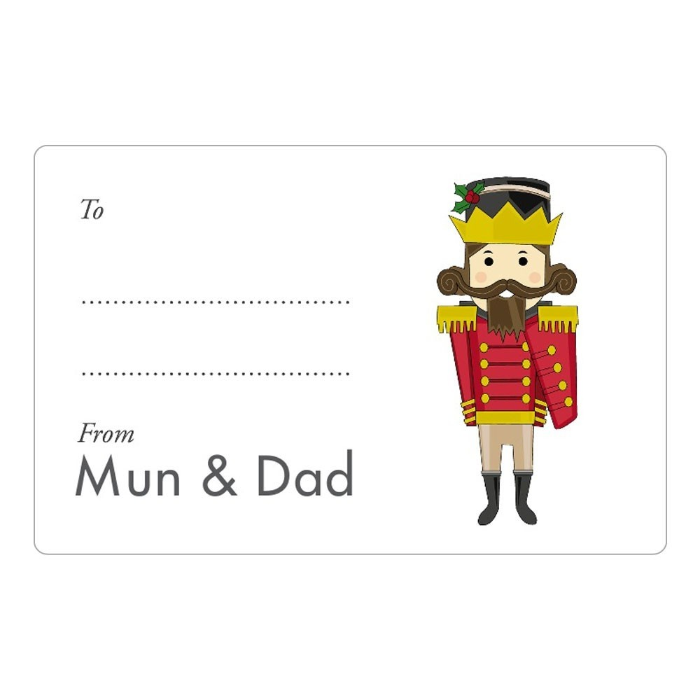 Toy Soldier (Nutcracker) Gift Labels