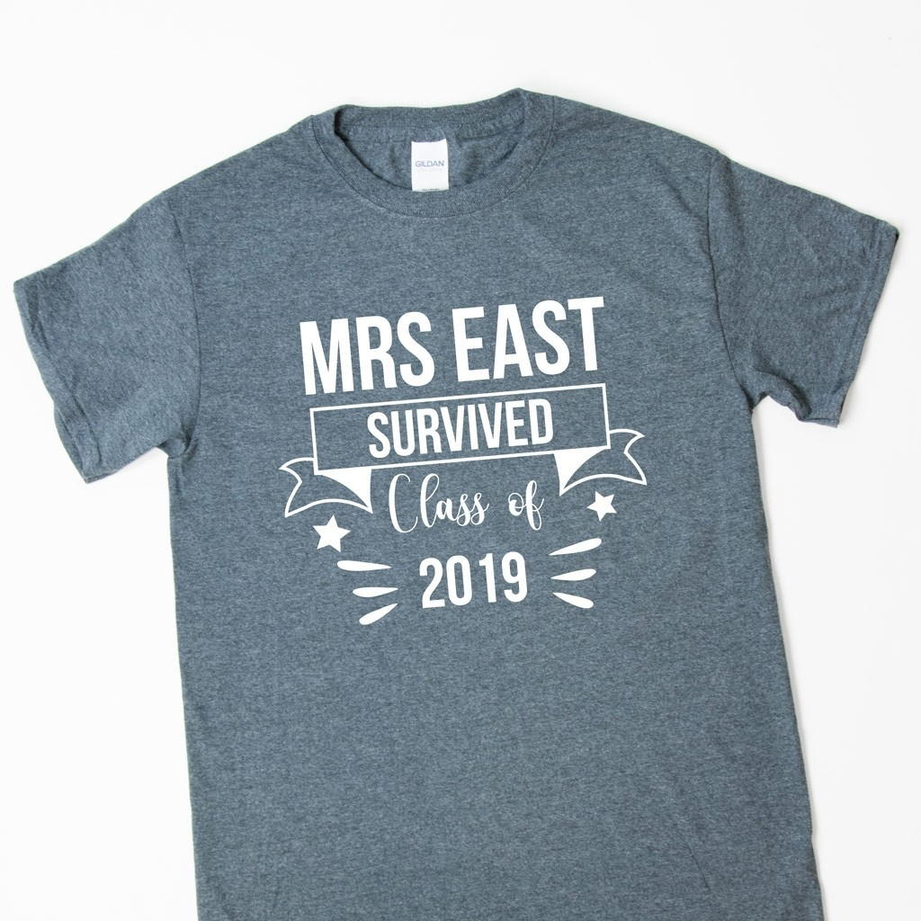 Teacher Gift T-Shirt - Survived