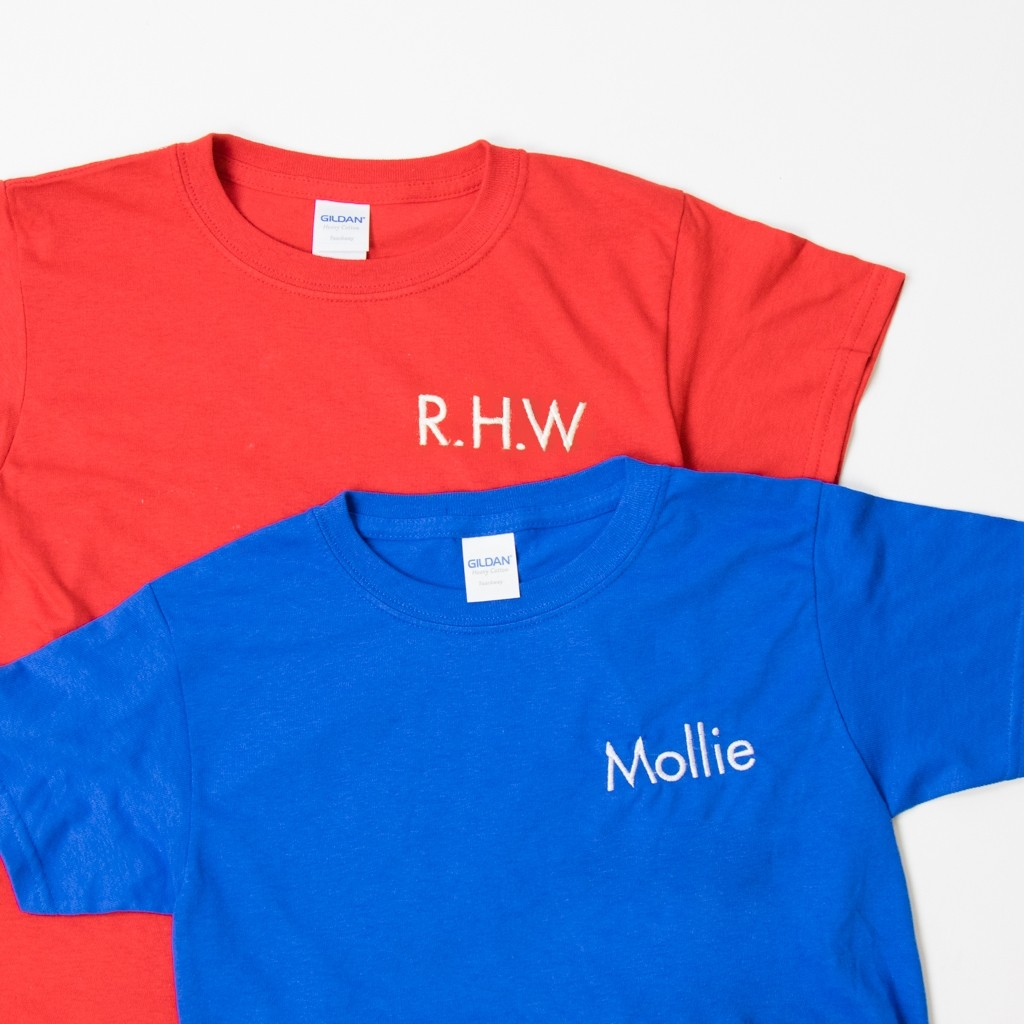 Personalised Embroidered Children's T-Shirt