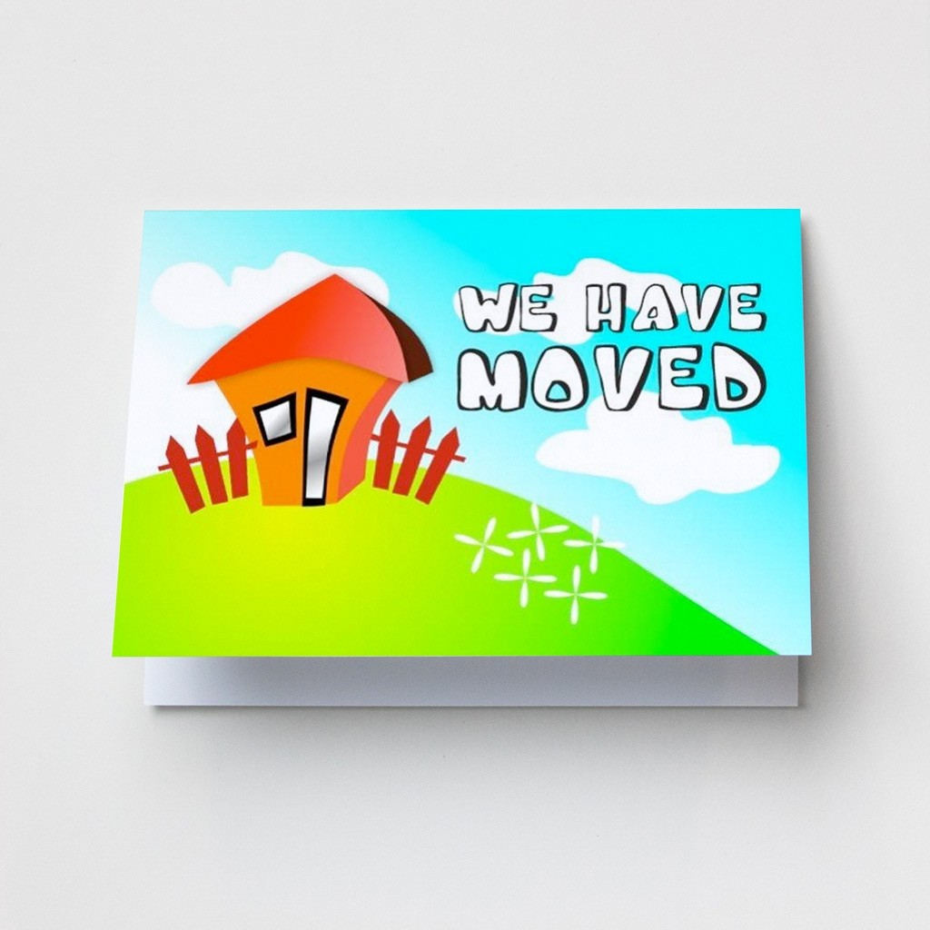 We Have Moved - Change of Address Cards