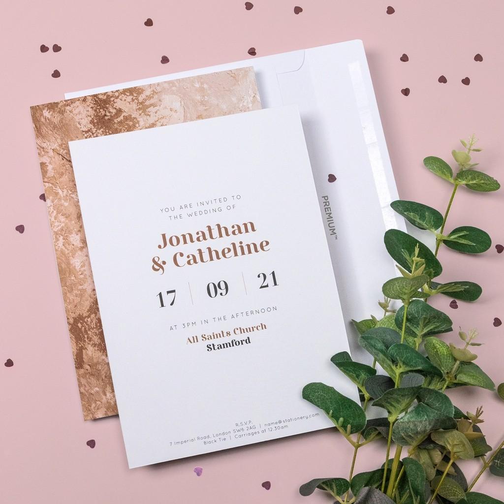 Arizona Personalised Wedding Invitation