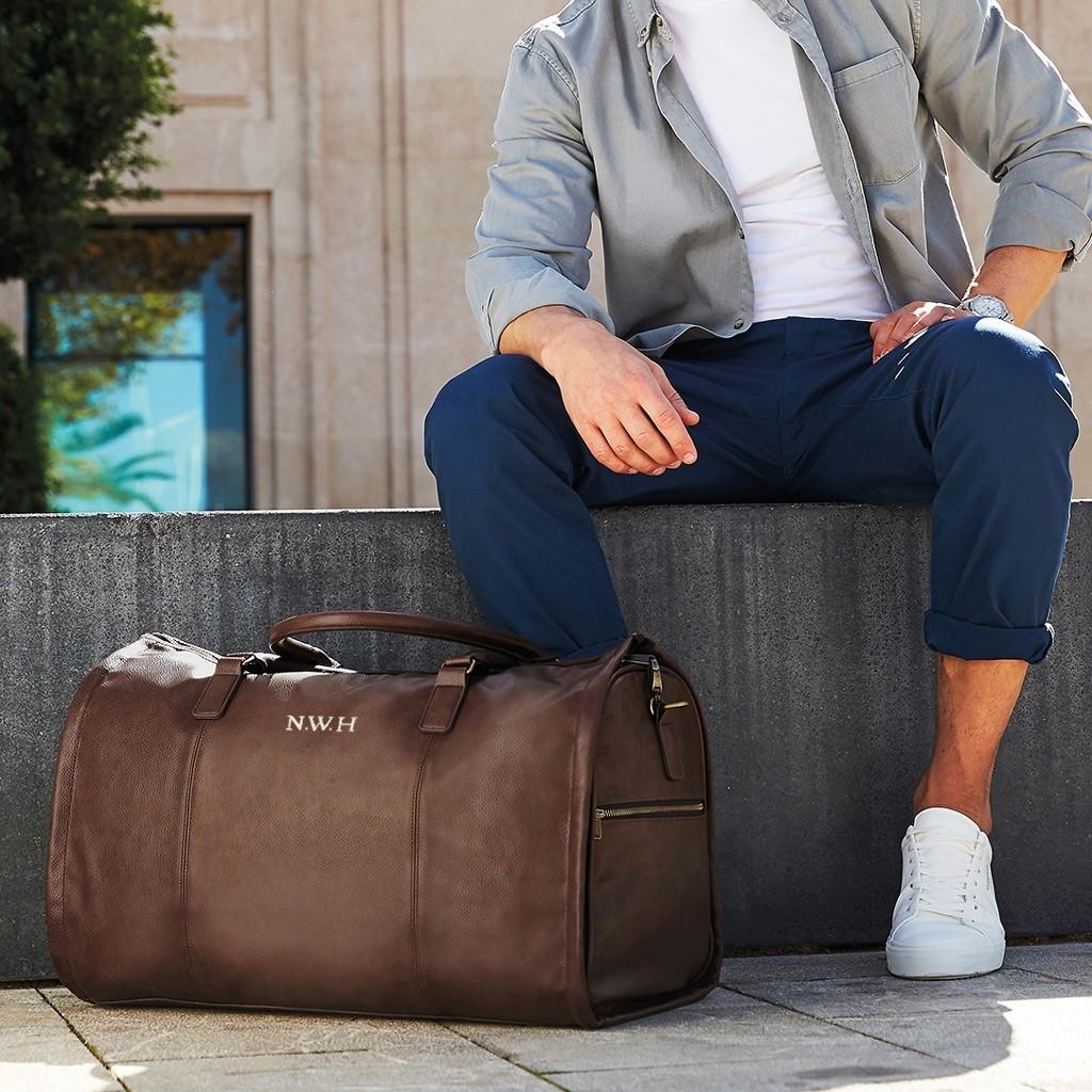 Personalised NuHide® Garment Weekender Bag