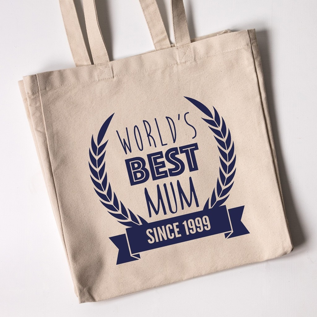 Personalised Tote Bag - World's Best Mum