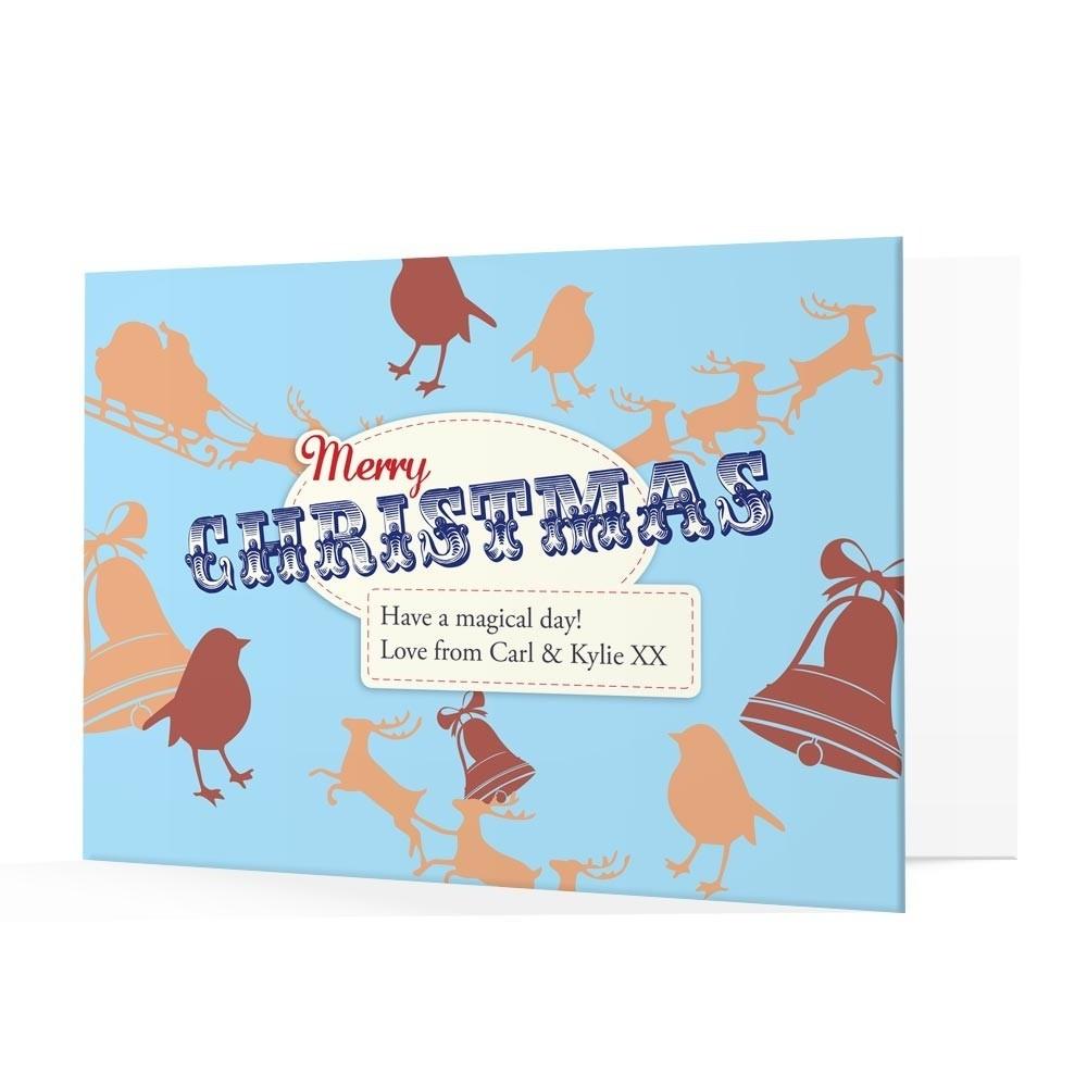 Premium Christmas Cards - Mery Christmas Design