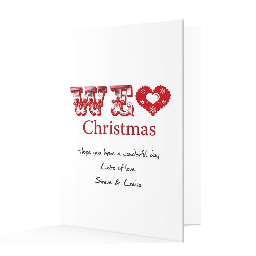 Premium Christmas Cards - We Love Design