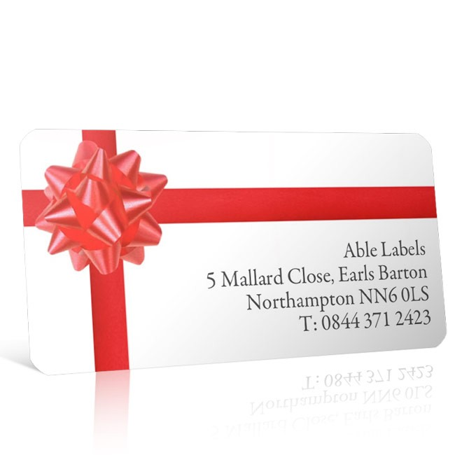 Christmas A4 Sheet Labels - Christmas Wrapping