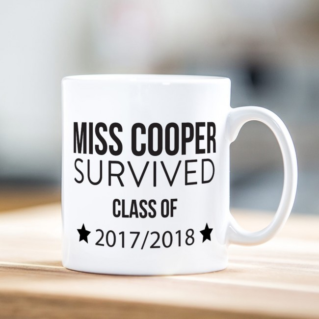 Teacher Gift Mug - Floss